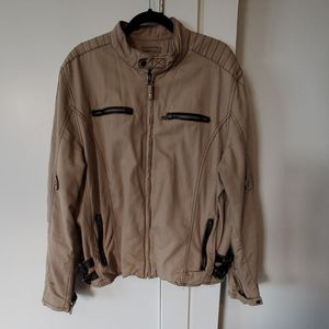 Soft and durable cotton moto jacket Wilsons XL